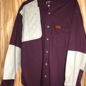 Woolrixh  long sleeve button up large